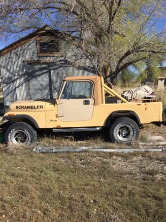 1981 Jeep Scrambler CJ8 V8 Auto For Sale Montrose, CO ...