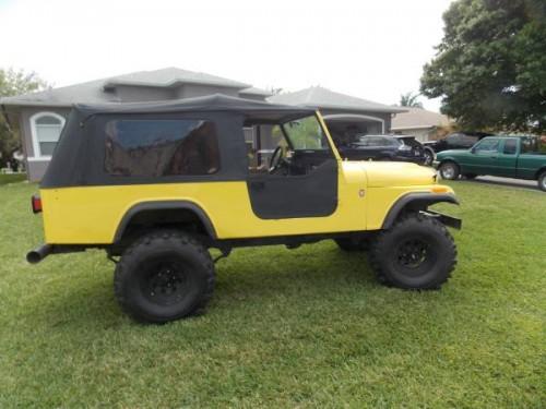1982 Jeep Scrambler CJ8 V6 Manual For Sale Lee, FL ...