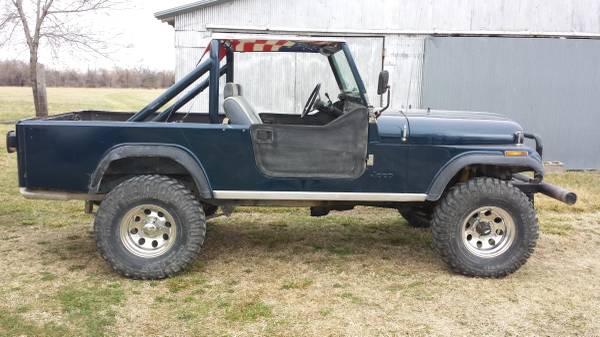 1982 jeep scrambler cj8 v6 auto for sale southeast kansas craigslist. Black Bedroom Furniture Sets. Home Design Ideas