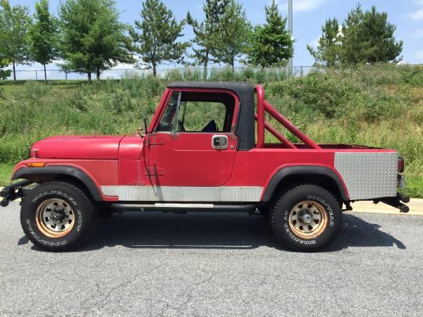 1981 Jeep Scrambler CJ8 258 V6 Manual For Sale Gaithersburg
