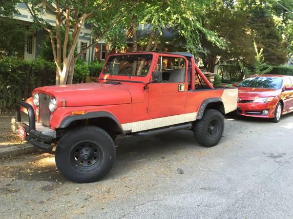 1982 Jeep Scrambler CJ8 258 ci Manual For Sale Atlanta, GA