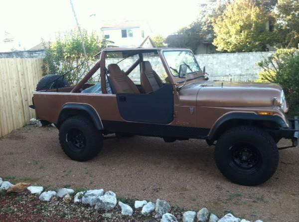 1982 Jeep Scrambler CJ8 V6 Manual For Sale San Antonio, TX ...