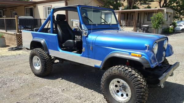 1984 Jeep Scrambler Cj8 V6 4 Speed For Sale Fairfield Ca