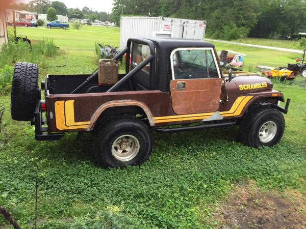 1981 Jeep Scrambler CJ8 V8 Auto For Sale Jacksonville, NC ...