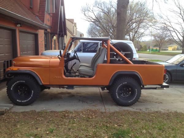 1981 Jeep Scrambler CJ8 350 Manual For Sale Kansas City ...
