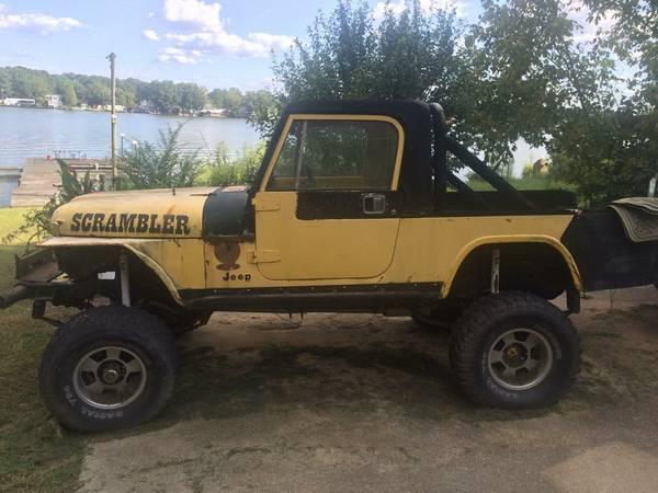 1984 Jeep Scrambler CJ8 350 V8 Auto For Sale Gadsden, AL - Craigslist