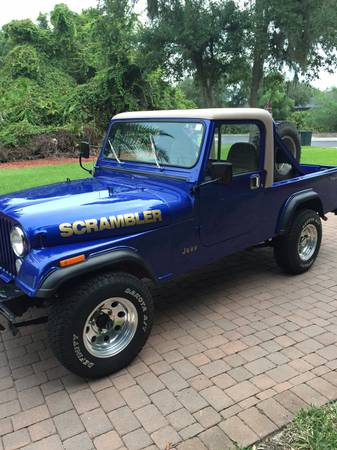 jeep scrambler for sale in florida cj 8 north american classifieds. Black Bedroom Furniture Sets. Home Design Ideas