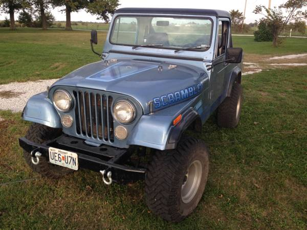 1984 Jeep Scrambler CJ8 350 V8 Auto For Sale Cottage Grove ...
