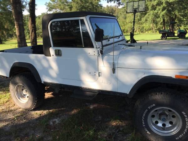 1982 Jeep Scrambler CJ8 V6 Auto For Sale Tampa, FL - Craigslist