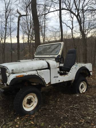 1982 Jeep Scrambler Cj8 V6 Manual For Sale New Cumberland