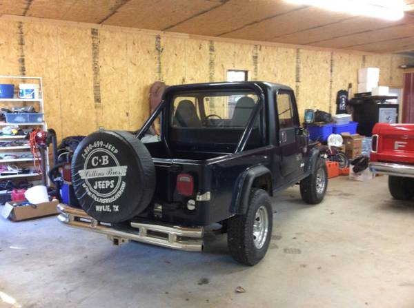 1982 Jeep Scrambler CJ8 V6 Auto For Sale Springdale, AR ...