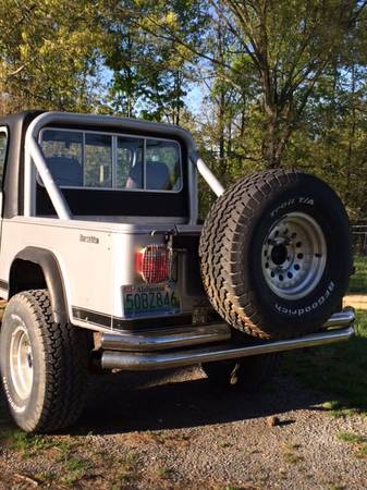1984 Jeep Scrambler Cj8 Manual For Sale Albertville Al
