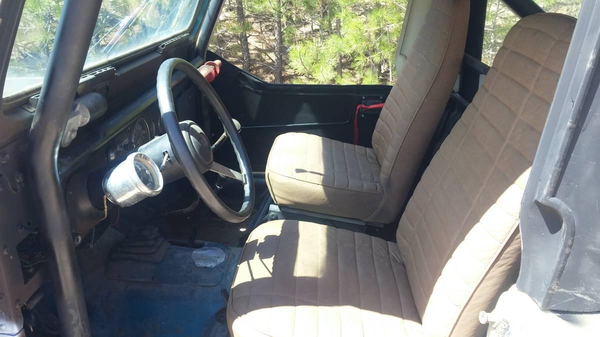 1982 Jeep Scrambler CJ8 V6 Manual For Elbert, CO - Craigslist