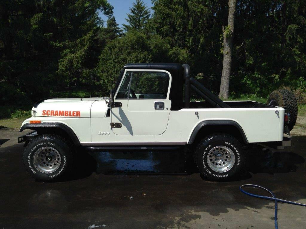1982 Jeep Scrambler CJ8 350 V8 Auto For Sale Plymouth, MN ...