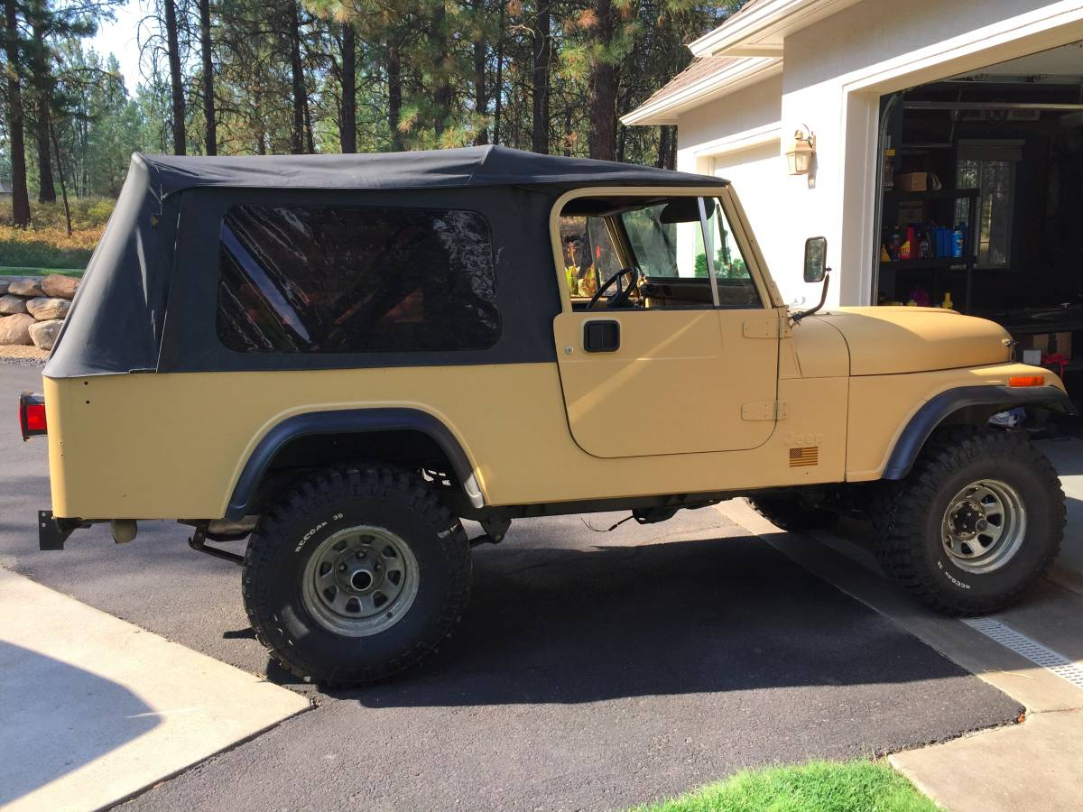 Craigslist East Idaho Cars: 1981 Jeep Scrambler CJ8 I6 Manual For Sale Coeur D'Alene