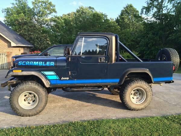 1981 Jeep Scrambler CJ8 258 V6 Manual For Sale Knoxville ...
