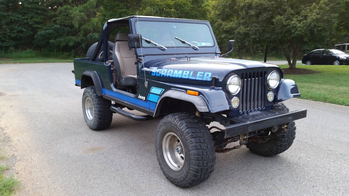 jeep scrambler for sale in virginia cj 8 north american classifieds. Black Bedroom Furniture Sets. Home Design Ideas