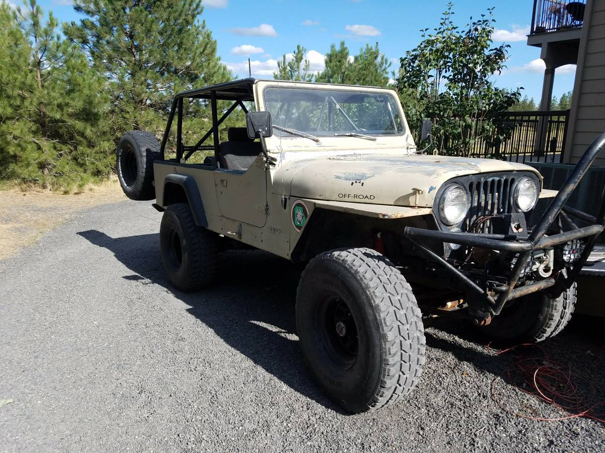 1983 jeep scrambler cj8 350 auto for sale spokane wa craigslist. Black Bedroom Furniture Sets. Home Design Ideas
