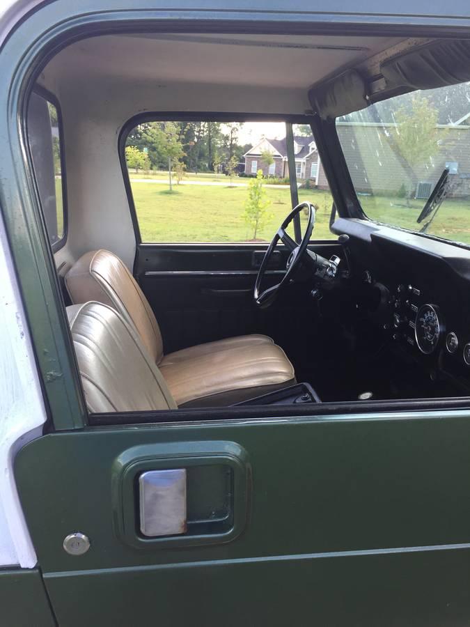 1982 Jeep Scrambler CJ8 258 I6 Auto For Sale Spartanburg ...