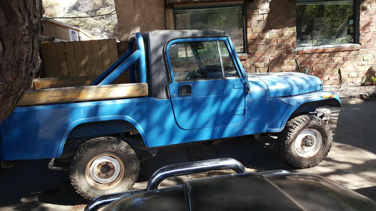 1981 Jeep Scrambler CJ8 Manual For Sale Laguna Beach, CA ...