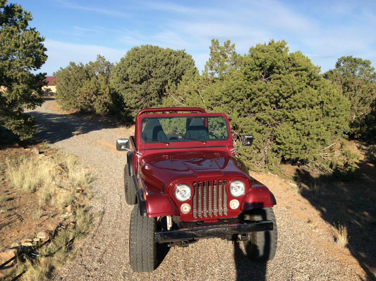 1982 Jeep Scrambler CJ8 360 V8 Manual For Sale Santa Fe ...