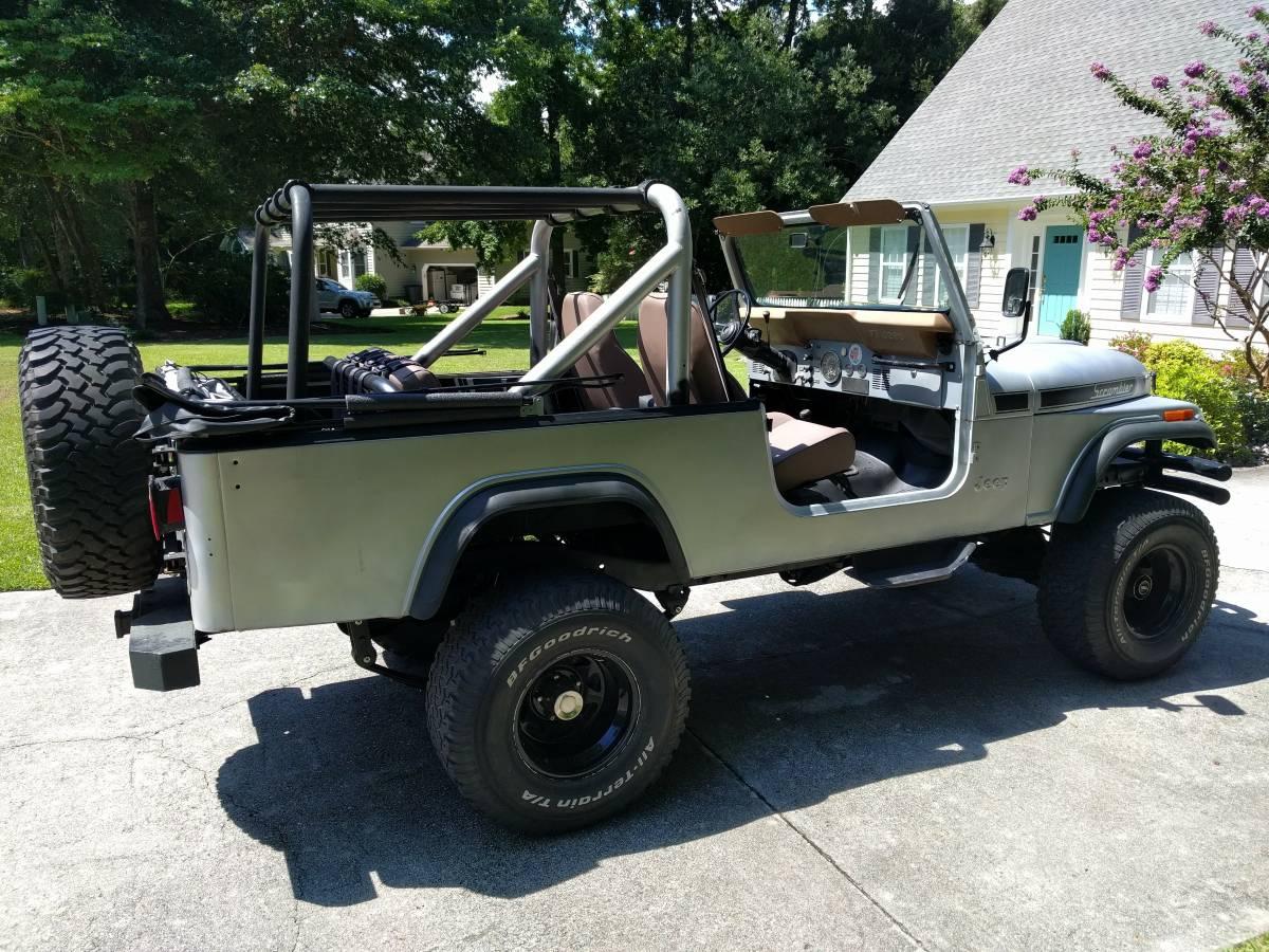 1983 Jeep Scrambler CJ8 V6 Auto For Sale Morehead City, NC ...