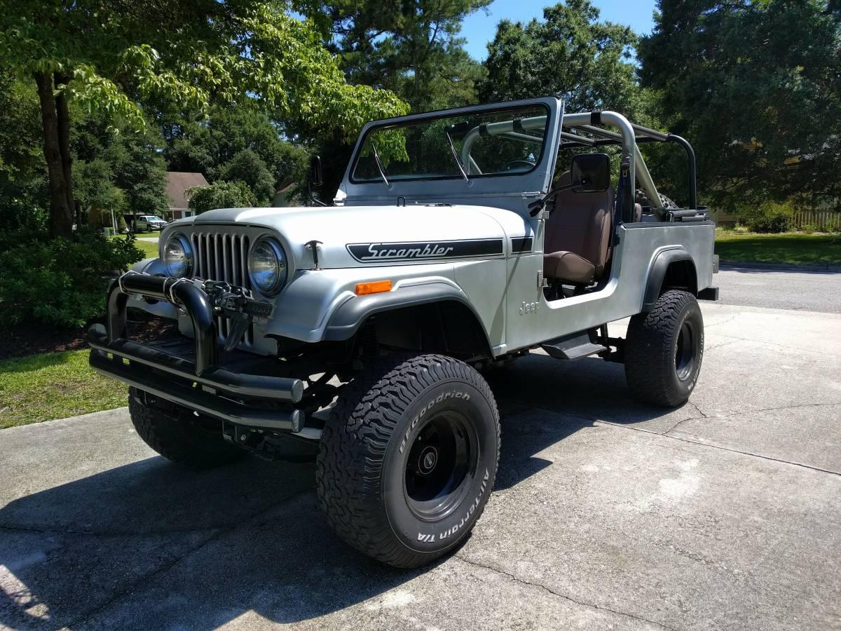 jeep scrambler for sale in north carolina cj 8 north american classifieds. Black Bedroom Furniture Sets. Home Design Ideas