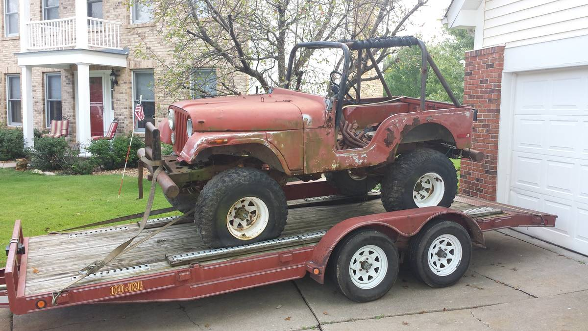 1975 Jeep Scrambler CJ8 Parting Out For Sale Saint Charles ...