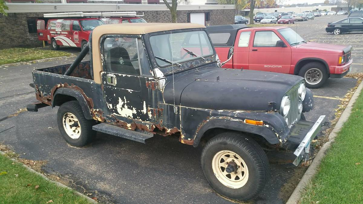 1982 jeep scrambler cj8 manual for sale st cloud mn craigslist. Black Bedroom Furniture Sets. Home Design Ideas