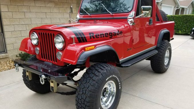 1983 jeep scrambler cj8 258 v6 manual for sale ocala fl craigslist. Black Bedroom Furniture Sets. Home Design Ideas