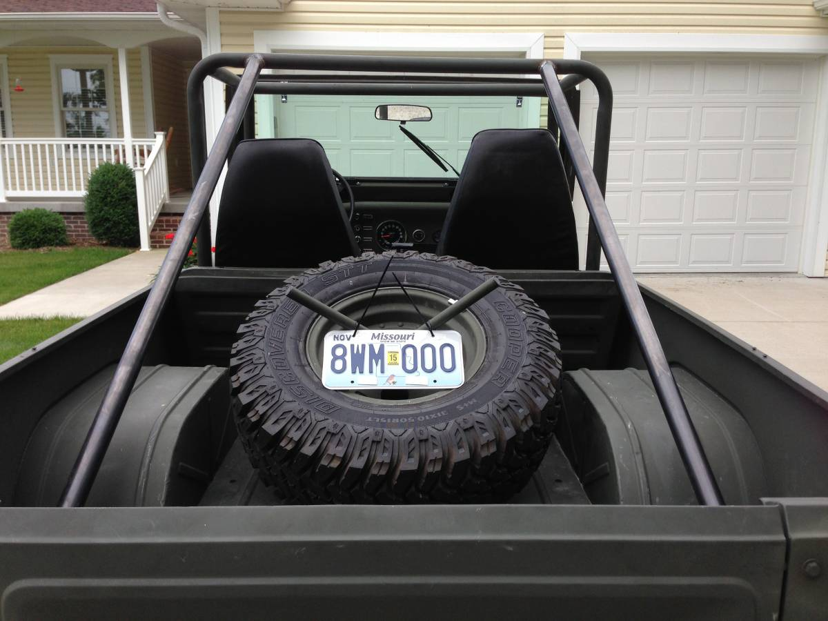 Jeep Scrambler CJ8 Roll Cage For Sale Fulton, MO - Craigslist