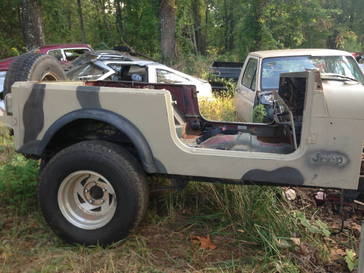 Jeep Scrambler CJ8 Solid Body Tub For Sale Jasper, GA ...