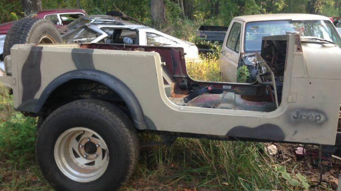 jeep scrambler cj8 solid body tub for sale jasper ga craigslist jeep scrambler for sale