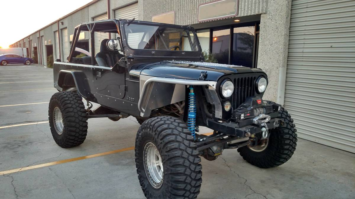1982 jeep scrambler cj8 5 3l 4l60 4 speed for sale in orange county california 37k. Black Bedroom Furniture Sets. Home Design Ideas