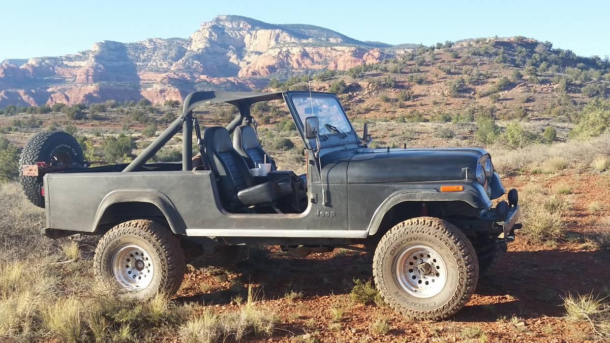 1982 jeep scrambler cj8 4 0l auto for sale in village of oak creek az. Black Bedroom Furniture Sets. Home Design Ideas