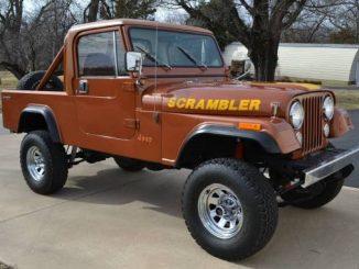 Jeep Scrambler For Sale in Oklahoma: CJ-8 North American