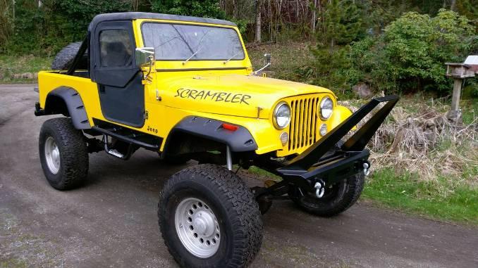 1982 Jeep CJ8 Scrambler For Sale in Snoqualmie, WA - $24K