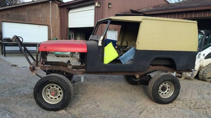 Rare 1984 Jeep Postal Scrambler CJ8 For Sale in Fenton ...