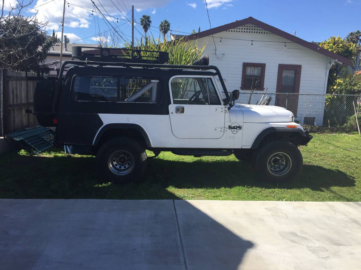 1983 Jeep Scrambler CJ8 6cyl Manual For Sale Los Angeles ...