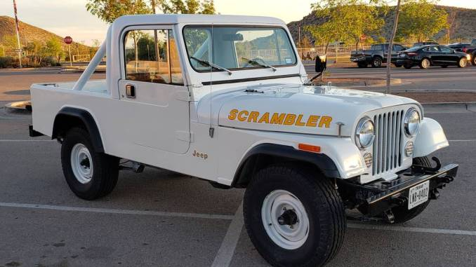 Jeep El Paso >> 1981 Jeep Scrambler CJ8 V6 Manual For Sale in El Paso, TX