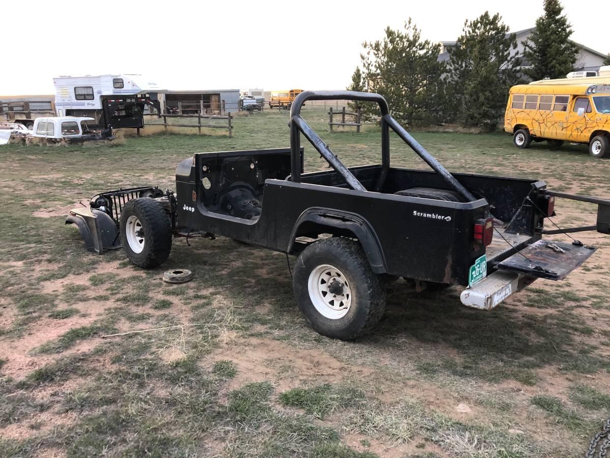 1983 jeep scrambler cj8 project for sale in cheyenne  wy