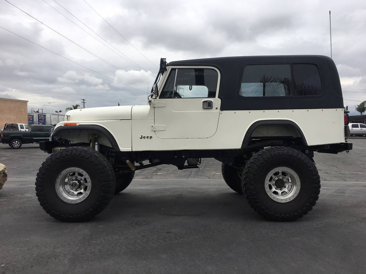 1985 Jeep Scrambler CJ8 5spd Manual For Sale in Colton, CA ...