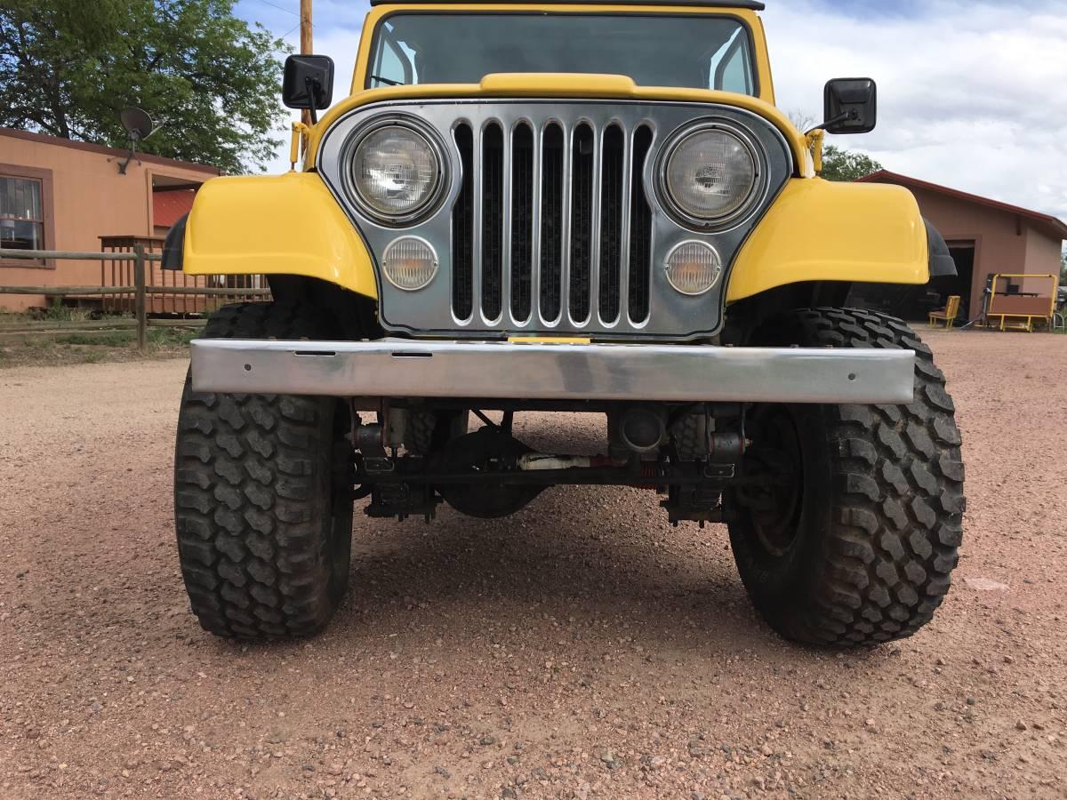 1981 Jeep Scrambler CJ8 6cyl Manual For Sale in Pueblo, CO - Craigslist
