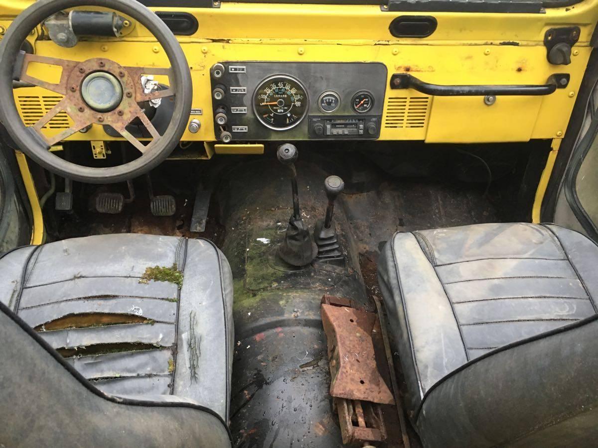 1981 Jeep Scrambler CJ8 4Cyl Man For Sale in Columbus, OH ...