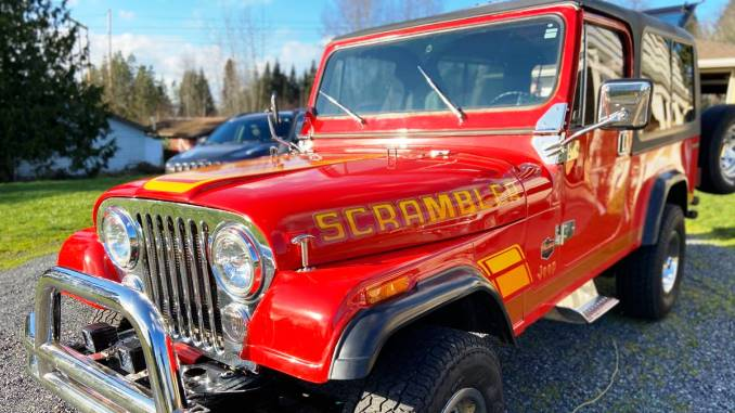 1985 Jeep Scrambler CJ8 258 Manual For Sale in Snohomish ...