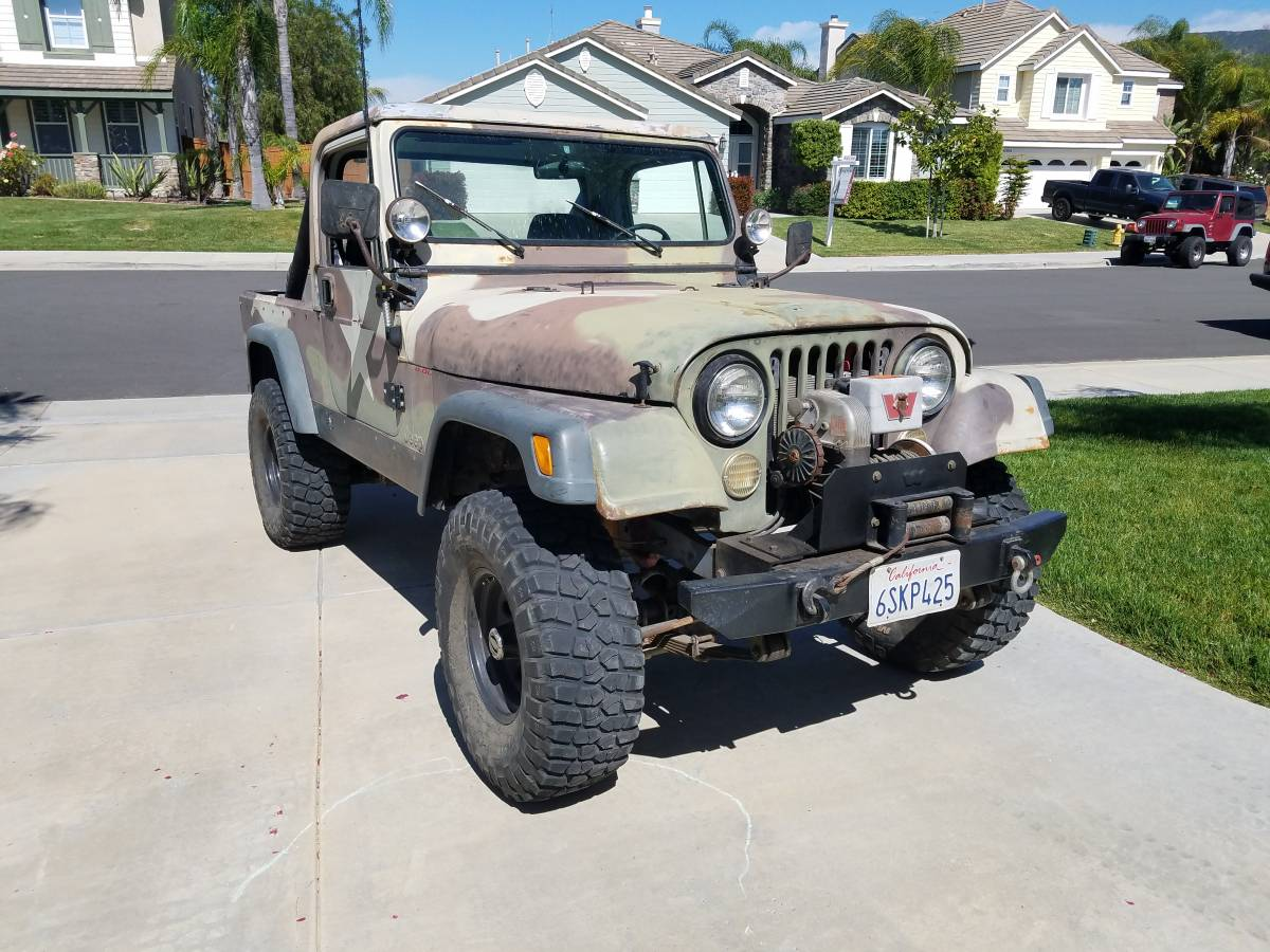 1982 Jeep Scrambler CJ8 V8 Auto For Sale in Temecula, CA ...