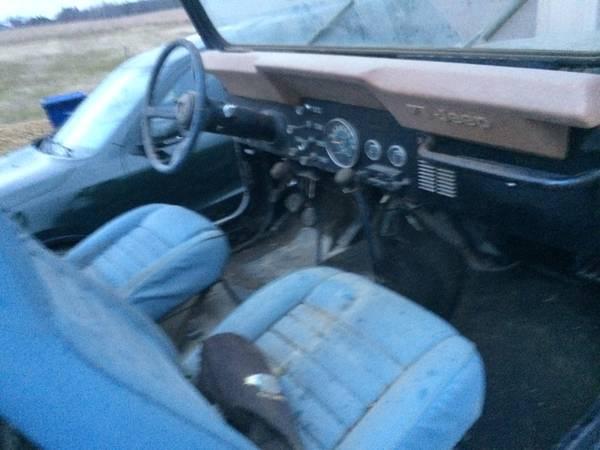 1981 Jeep Scrambler CJ8 Manual For Sale Ashland, OH ...