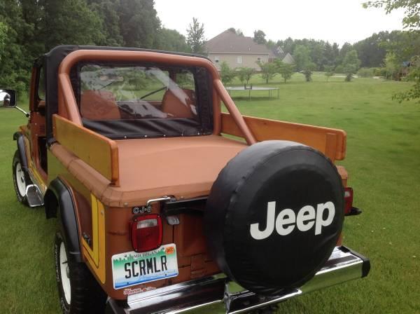 1981 Jeep Scrambler CJ8 V6 Manual For Sale Ann Arbor, MI ...