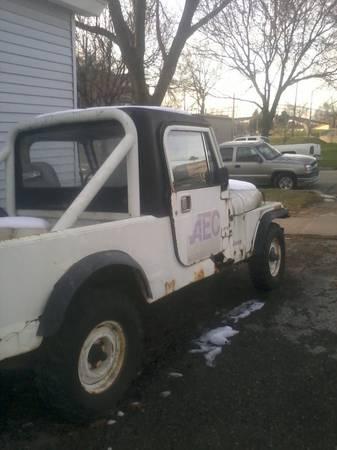 1985 Jeep Scrambler CJ8 V6 Auto For Sale Cedar Rapids, IA ...