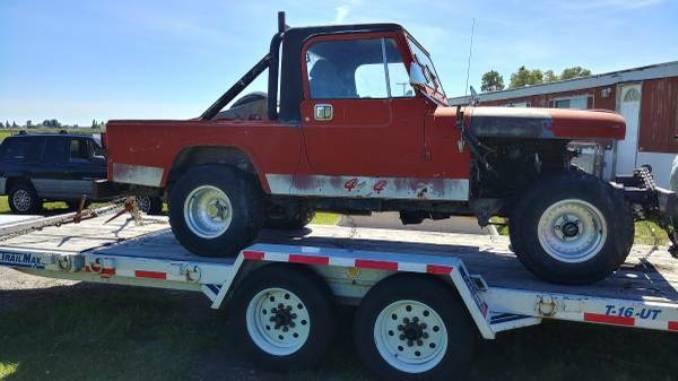 1981 Jeep Scrambler CJ8 Project For Sale in Belgrade, Montana